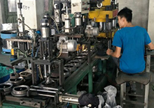 Resin grinding wheel production workshop